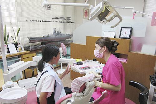 Step.3 治療内容・歯科治療器具の説明